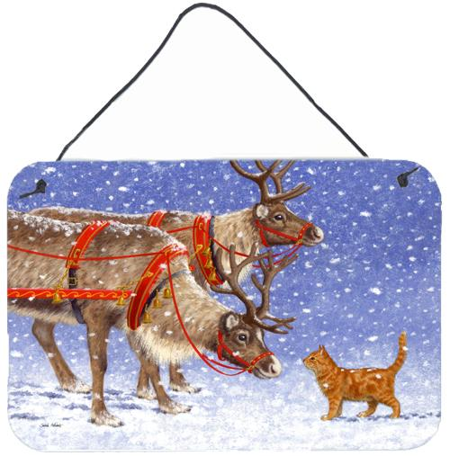 Buy this Reindeer & Cat Wall or Door Hanging Prints ASA2174DS812