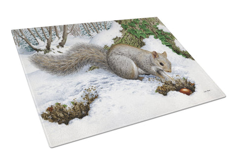 Buy this Grey Squirrel Glass Cutting Board Large ASA2180LCB