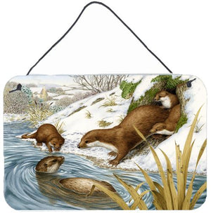 Buy this Playtime Otters Wall or Door Hanging Prints