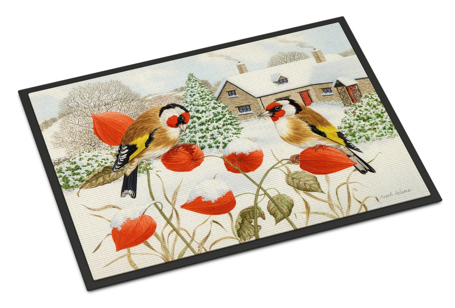 European Goldfinches Indoor or Outdoor Mat 24x36 ASA2189JMAT - the-store.com