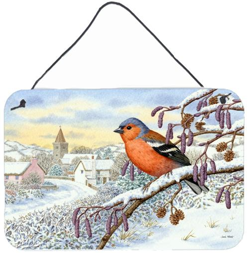 Bull Finch Wall or Door Hanging Prints ASA2193DS812 by Caroline's Treasures