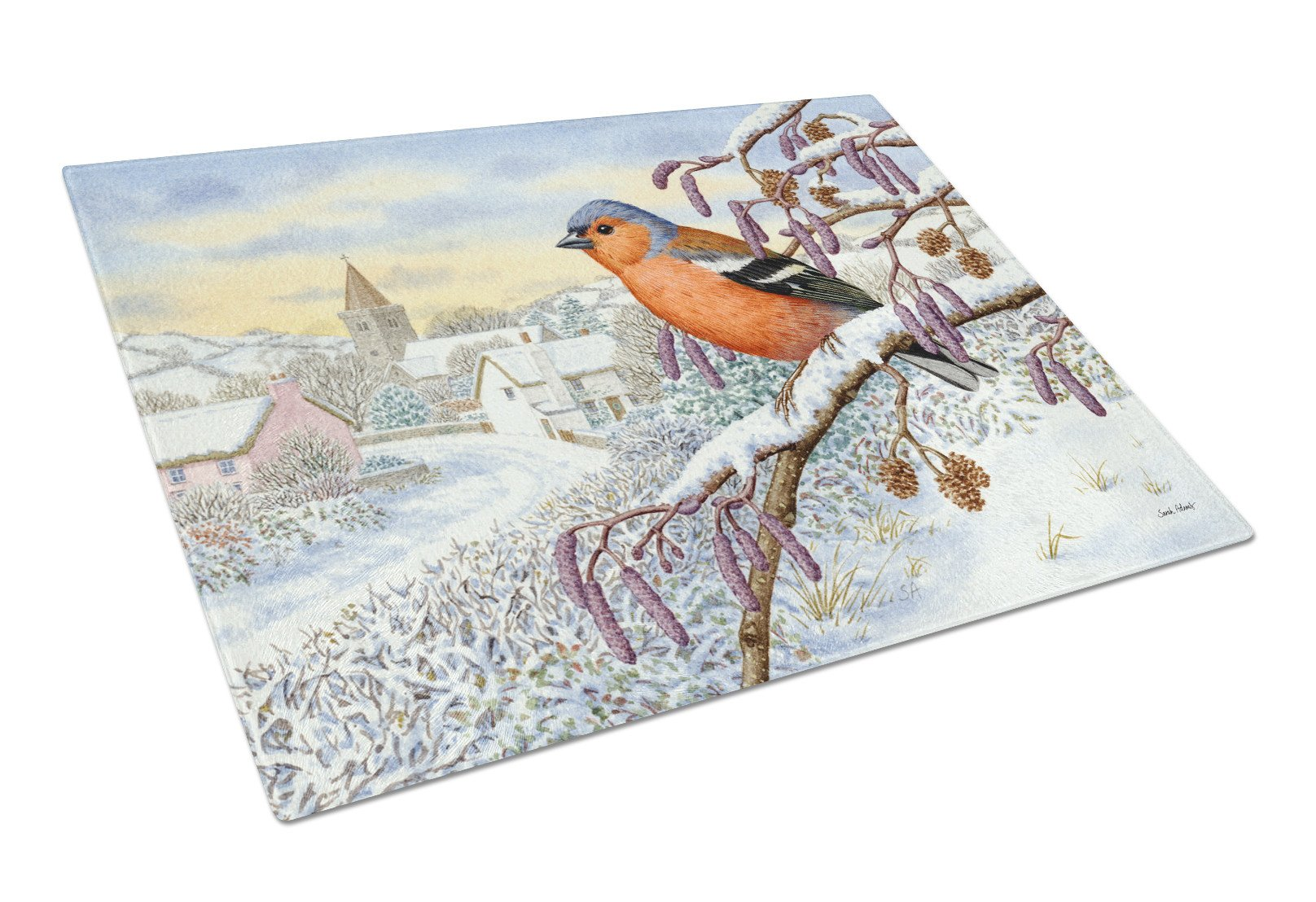 Bull Finch Glass Cutting Board Large ASA2193LCB - the-store.com