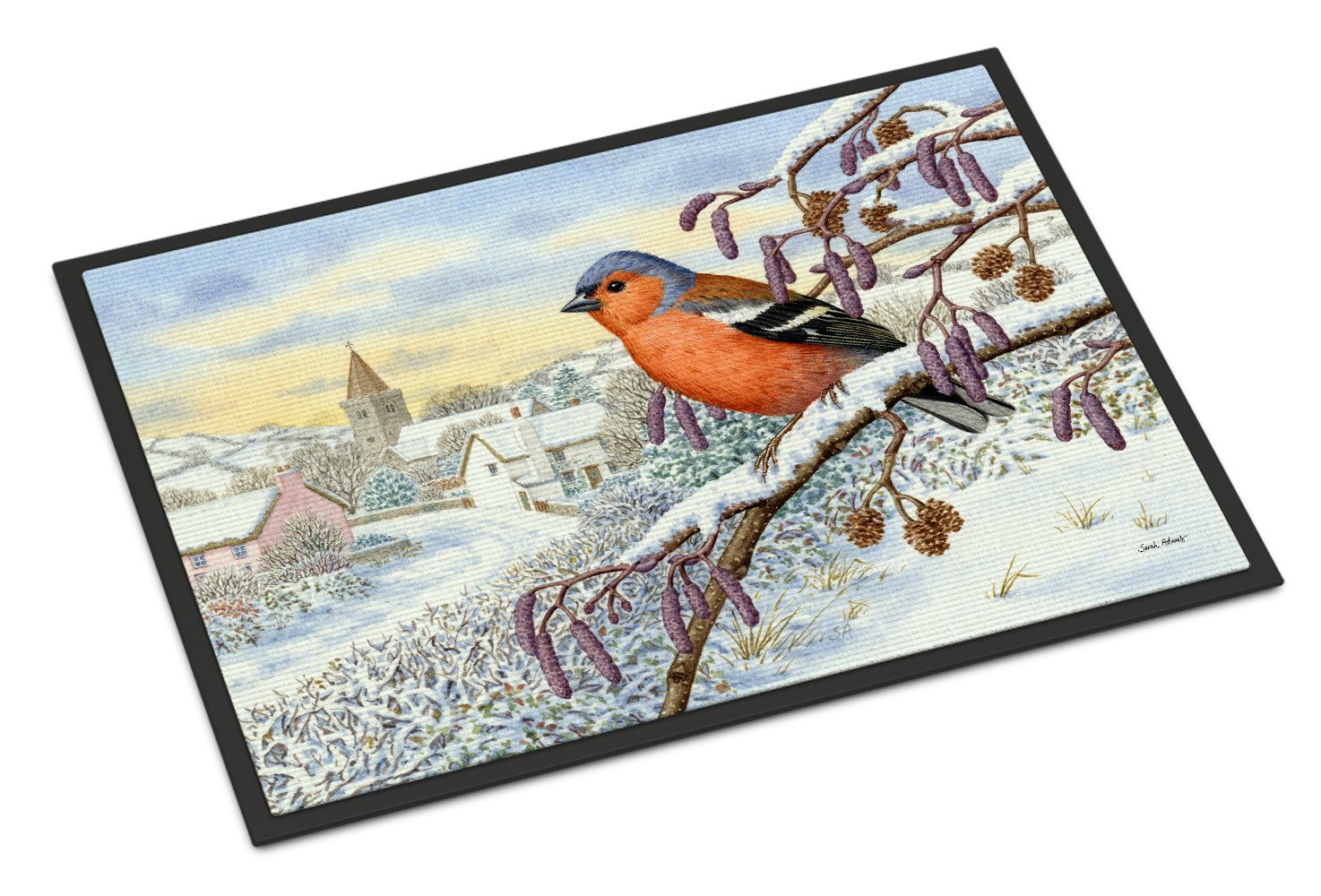 Bull Finch Indoor or Outdoor Mat 18x27 ASA2193MAT - the-store.com
