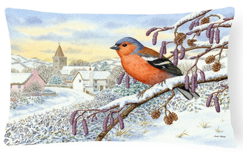 Buy this Bull Finch Fabric Decorative Pillow ASA2193PW1216