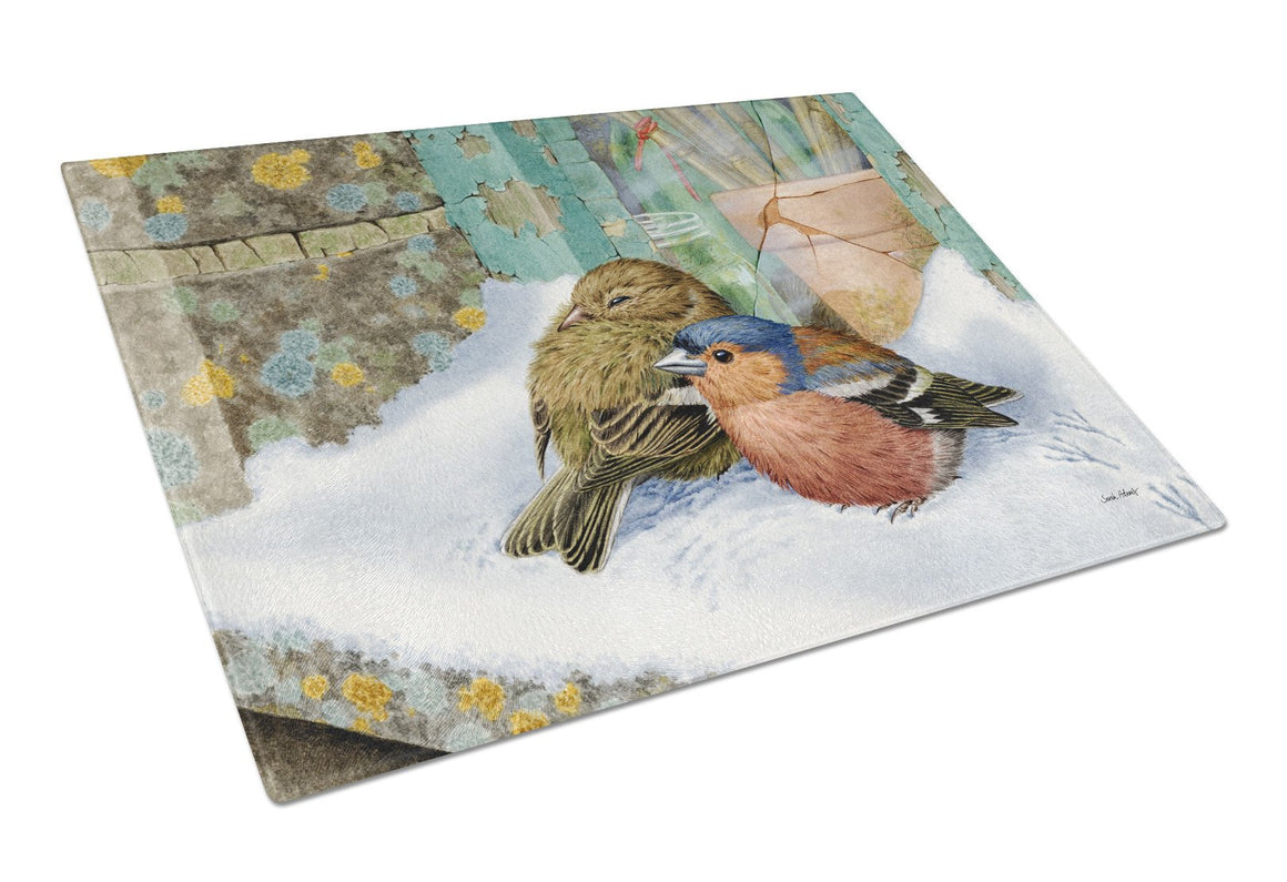 Chaffinches Glass Cutting Board Large ASA2194LCB - the-store.com