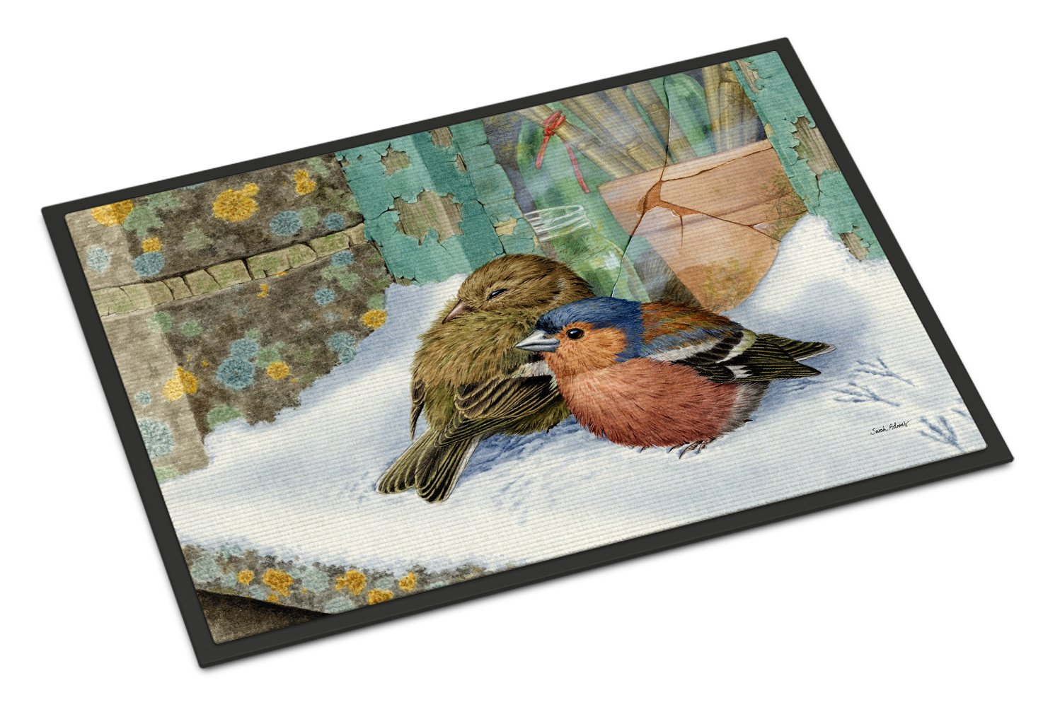 Chaffinches Indoor or Outdoor Mat 18x27 ASA2194MAT - the-store.com