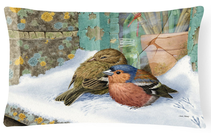 Chaffinches Fabric Decorative Pillow ASA2194PW1216 - the-store.com