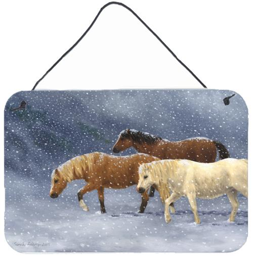 Buy this Seeking Shelter Horses Wall or Door Hanging Prints ASA2197DS812