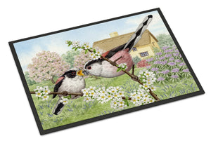 Buy this Long Tailed Tits Indoor or Outdoor Mat 24x36 ASA2200JMAT