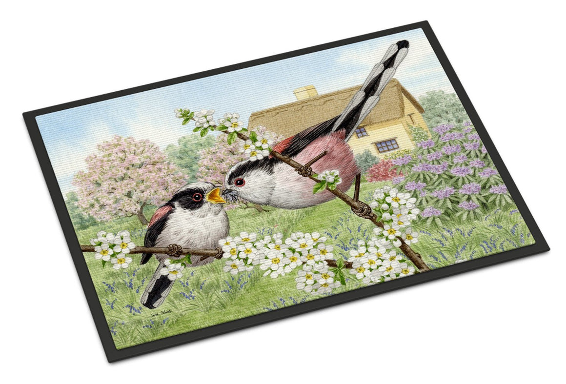 Buy this Long Tailed Tits Indoor or Outdoor Mat 18x27 ASA2200MAT