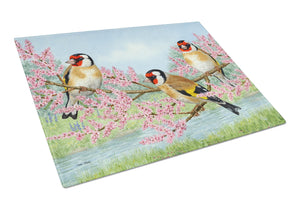 Buy this European Goldfinch Glass Cutting Board Large ASA2202LCB