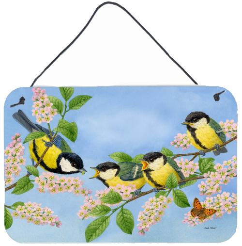 Buy this Great Tit Family of Birds Wall or Door Hanging Prints ASA2203DS812