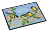Great Tit Family of Birds Indoor or Outdoor Mat 18x27 ASA2203MAT - the-store.com
