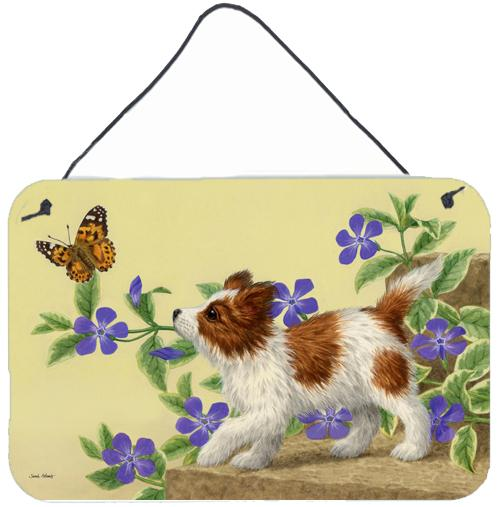 Buy this Papillon Pup Wall or Door Hanging Prints ASA2204DS812
