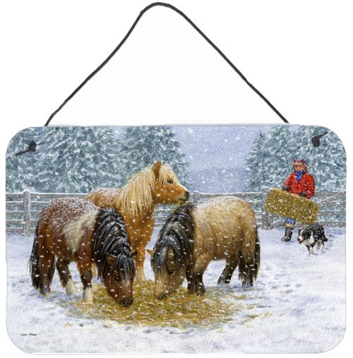 Buy this Shetland Ponies Wall or Door Hanging Prints ASA2206DS812
