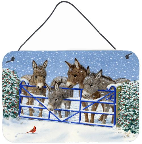 Buy this Donkeys and Cardinal Wall or Door Hanging Prints ASA2209DS812