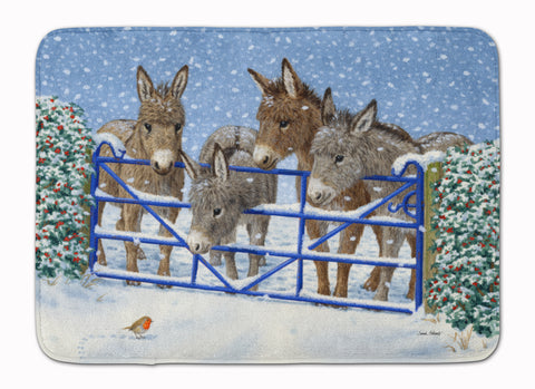 Buy this Donkeys and Robin at the Fence Machine Washable Memory Foam Mat ASA2210RUG