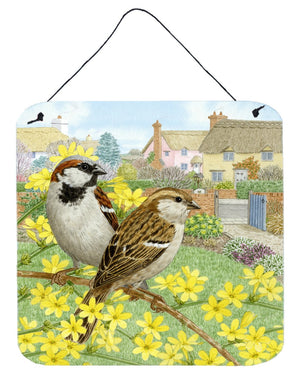 Buy this House Sparrows by Sarah Adams Wall or Door Hanging Prints ASAD0677DS66