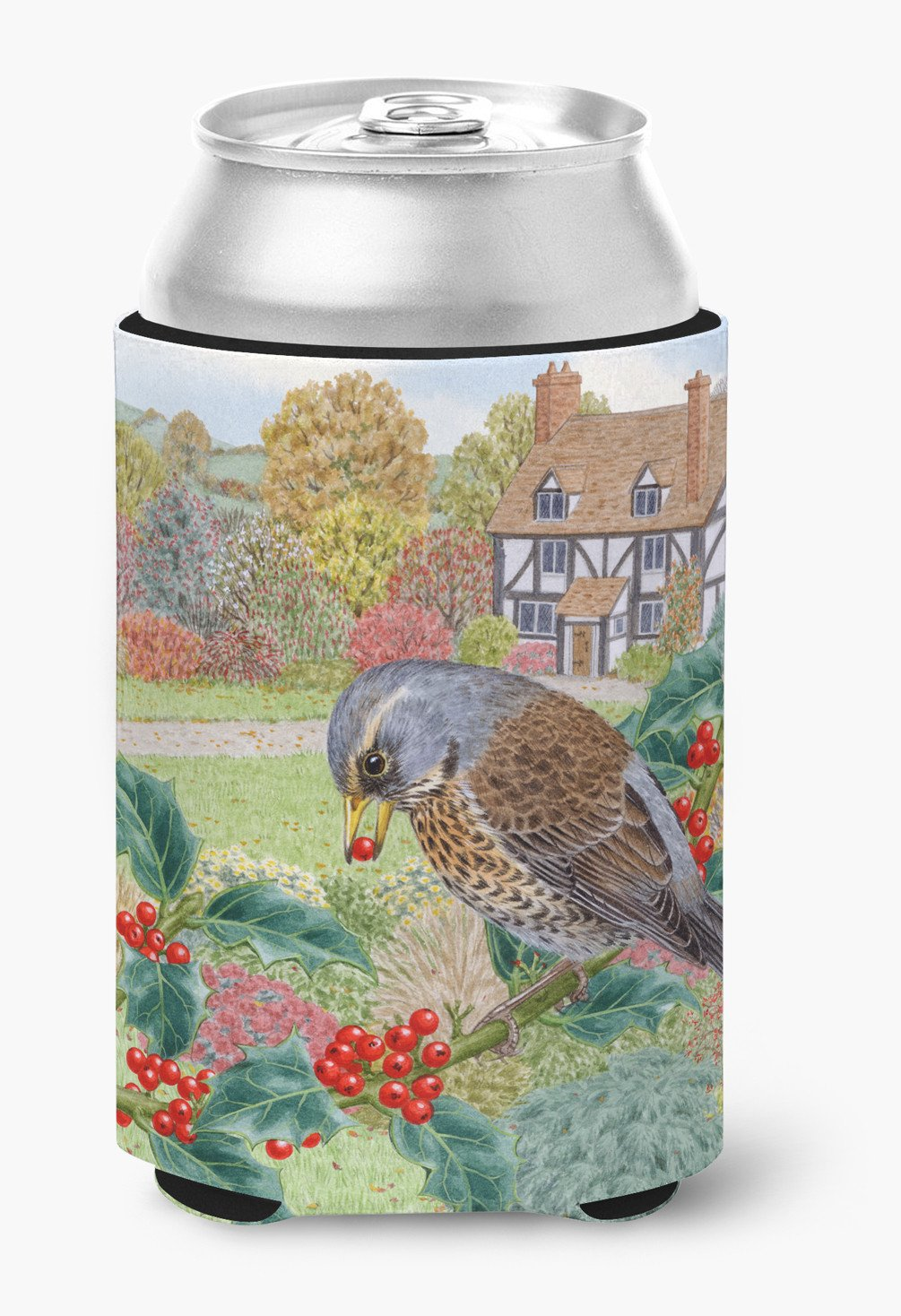 Fieldfare by Sarah Adams Can or Bottle Hugger ASAD0678CC by Caroline's Treasures