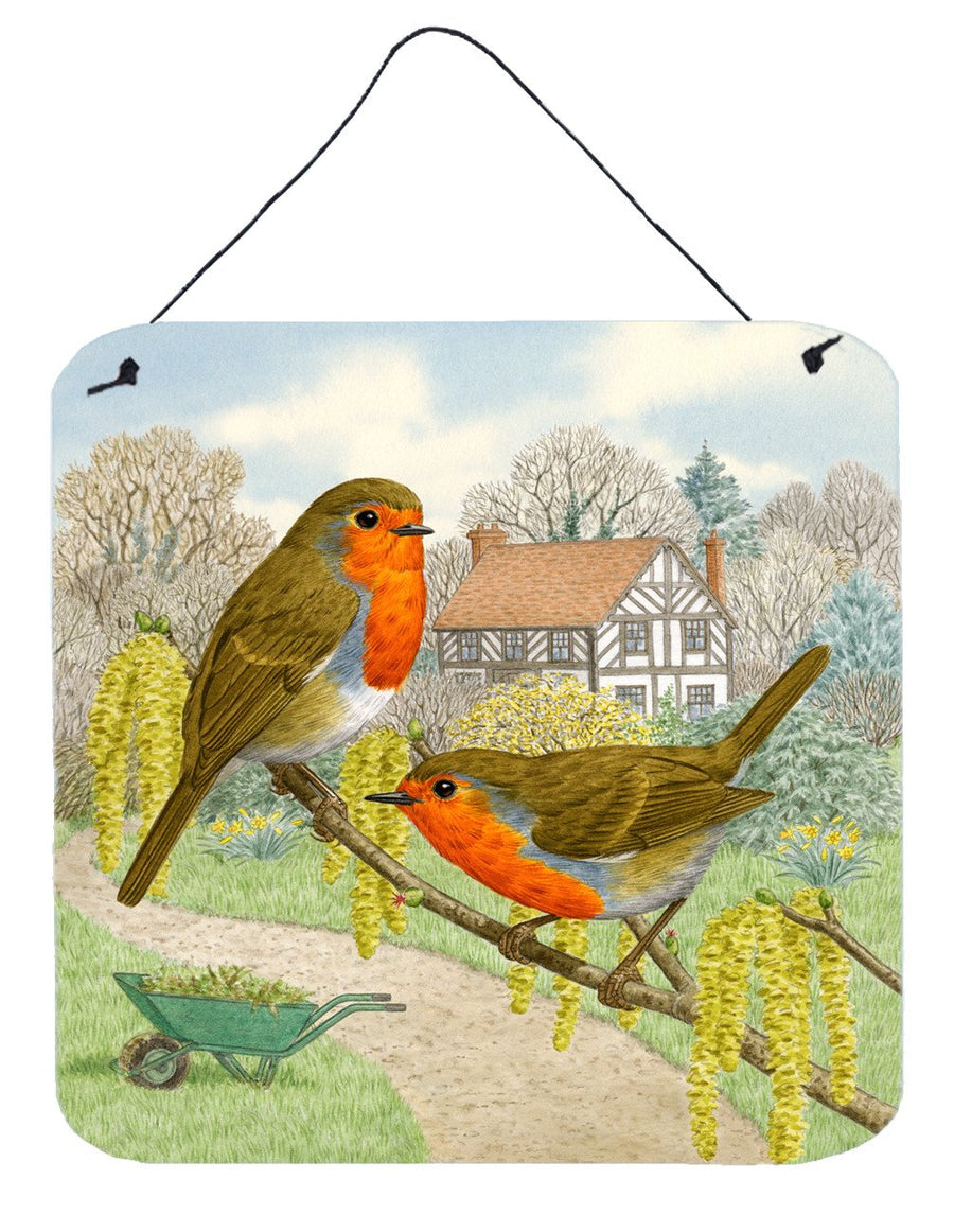 Buy this European Robin by Sarah Adams Wall or Door Hanging Prints ASAD0684DS66