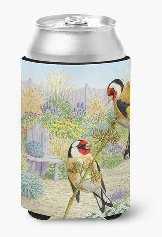 Buy this European Goldfinches by Sarah Adams Can or Bottle Hugger ASAD0691CC