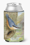 Nuthatch by Sarah Adams Can or Bottle Hugger ASAD0696CC by Caroline's Treasures