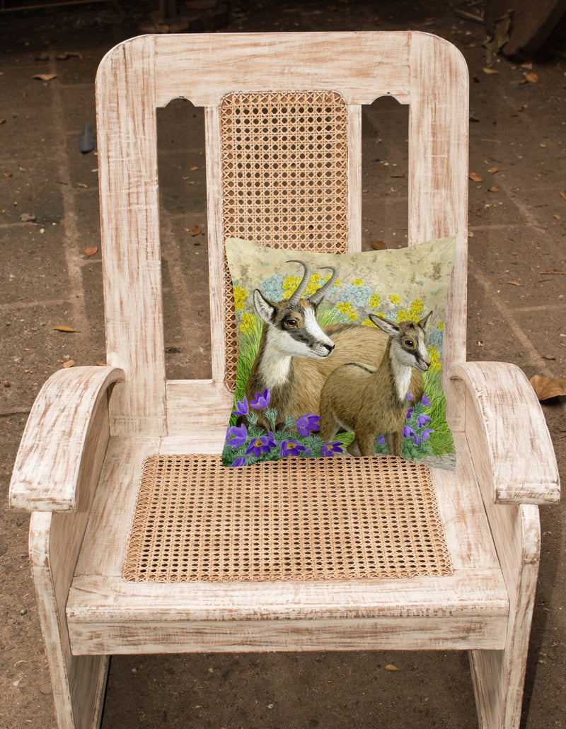 Chamois by Sarah Adams Canvas Decorative Pillow ASAD0789PW1414 - the-store.com