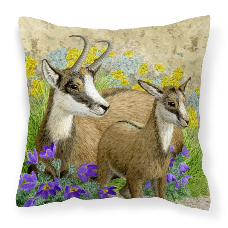 Buy this Chamois by Sarah Adams Canvas Decorative Pillow
