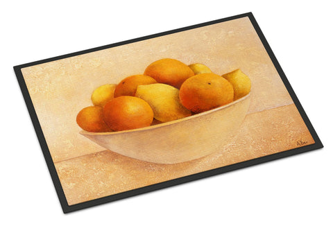 Buy this Oranges & Lemons in a Bowl Indoor or Outdoor Mat 18x27 BABE0085MAT