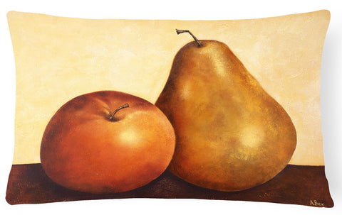 Buy this Apple and Pear Fabric Decorative Pillow BABE0089PW1216