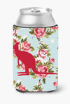 Buy this Kangaroo Shabby Chic Blue Roses Can or Bottle Beverage Insulator Hugger BB1008