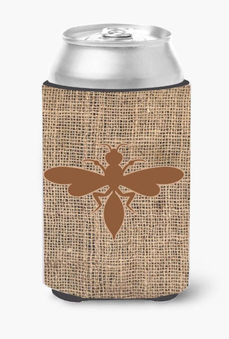 Buy this Wasp Burlap and Brown Can or Bottle Beverage Insulator Hugger