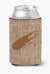Buy this Beetle Burlap and Brown Can or Bottle Beverage Insulator Hugger