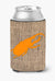Buy this Beetle Burlap and Orange Can or Bottle Beverage Insulator Hugger BB1056
