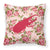 Buy this Beetle Shabby Chic Pink Roses  Fabric Decorative Pillow BB1056-RS-PK-PW1414