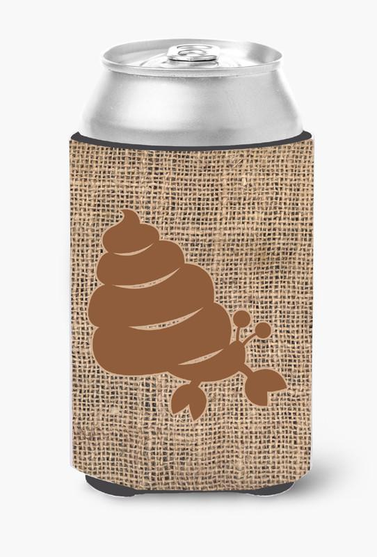 Buy this Hermit Crab Burlap and Brown Can or Bottle Beverage Insulator Hugger