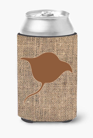 Buy this Stingray Burlap and Brown Can or Bottle Beverage Insulator Hugger