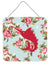 Buy this Fish - Sword Fish Shabby Chic Blue Roses Wall or Door Hanging Prints BB1097