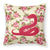 Buy this Snake Shabby Chic Yellow Roses  Fabric Decorative Pillow BB1124-RS-YW-PW1414