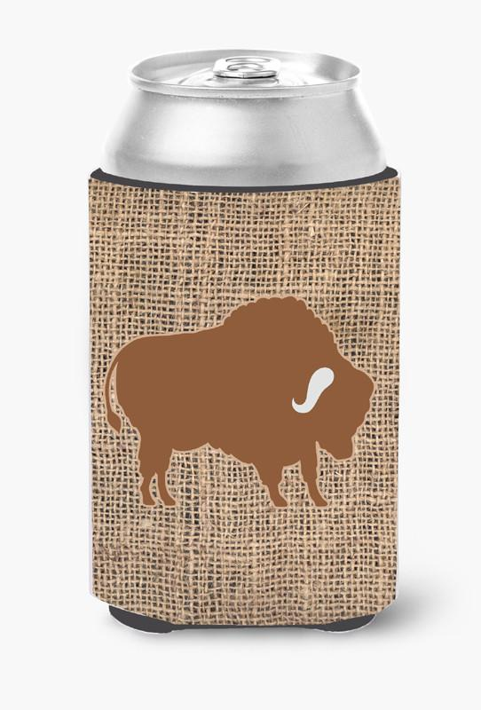 Buy this Buffalo Burlap and Brown Can or Bottle Beverage Insulator Hugger