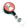 Red Checkered Dalmatian Retractable Badge Reel BB1131BR by Caroline's Treasures