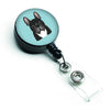 Checkerboard Blue French Bulldog Retractable Badge Reel BB1165BR by Caroline's Treasures