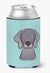 Checkerboard Blue Weimaraner Can or Bottle Hugger BB1169CC - the-store.com