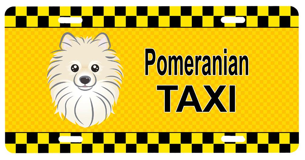 Pomeranian Taxi License Plate BB1331LP by Caroline's Treasures