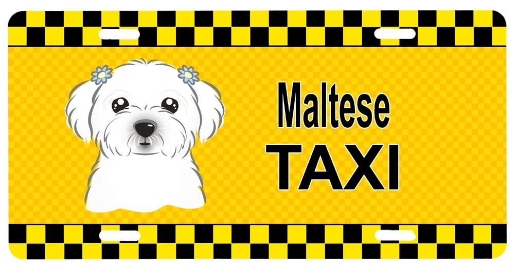 Buy this Maltese Taxi License Plate BB1332LP