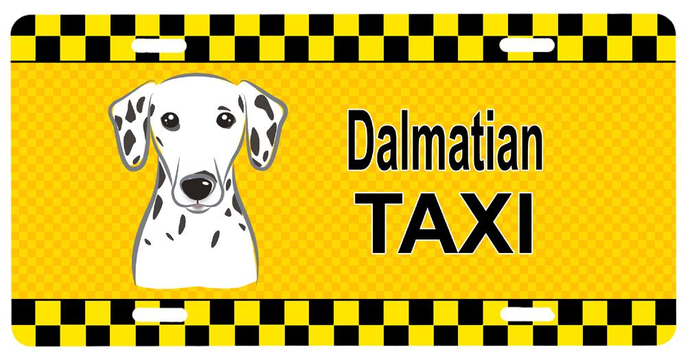 Dalmatian Taxi License Plate BB1334LP by Caroline's Treasures