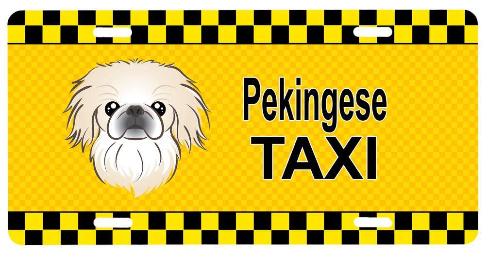 Buy this Pekingese Taxi License Plate BB1345LP