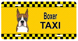 Buy this Boxer Taxi License Plate BB1347LP