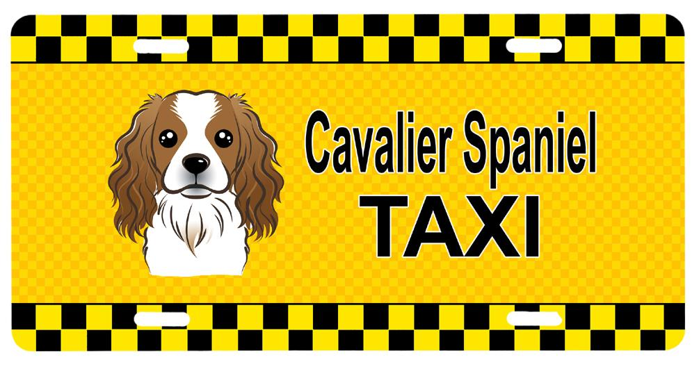 Cavalier Spaniel Taxi License Plate BB1348LP by Caroline's Treasures