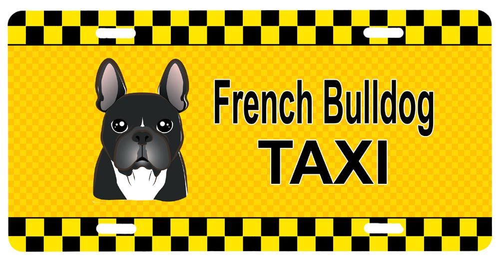 Buy this French Bulldog Taxi License Plate BB1351LP